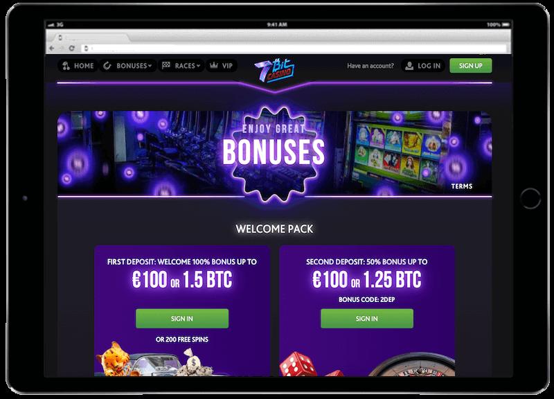 7bit casino bitcoin casino bonus
