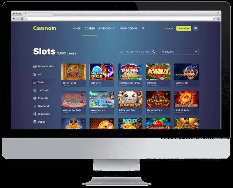 casinoin bitcoin casino games