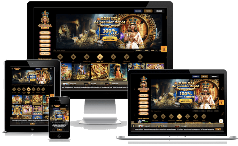 cleopatra bitcoin casino mobile