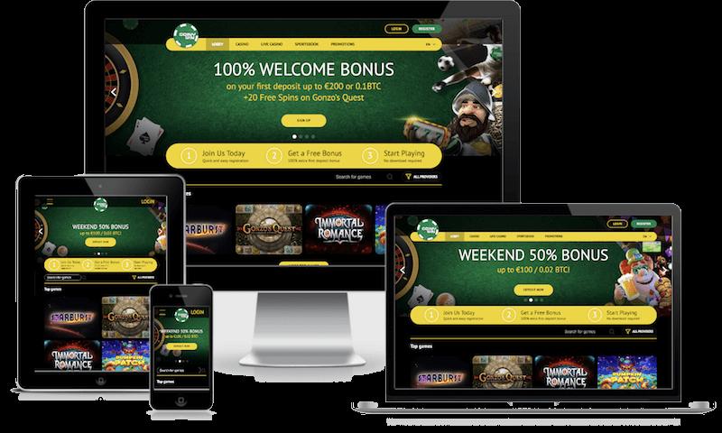 coinywin bitcoin casino mobile