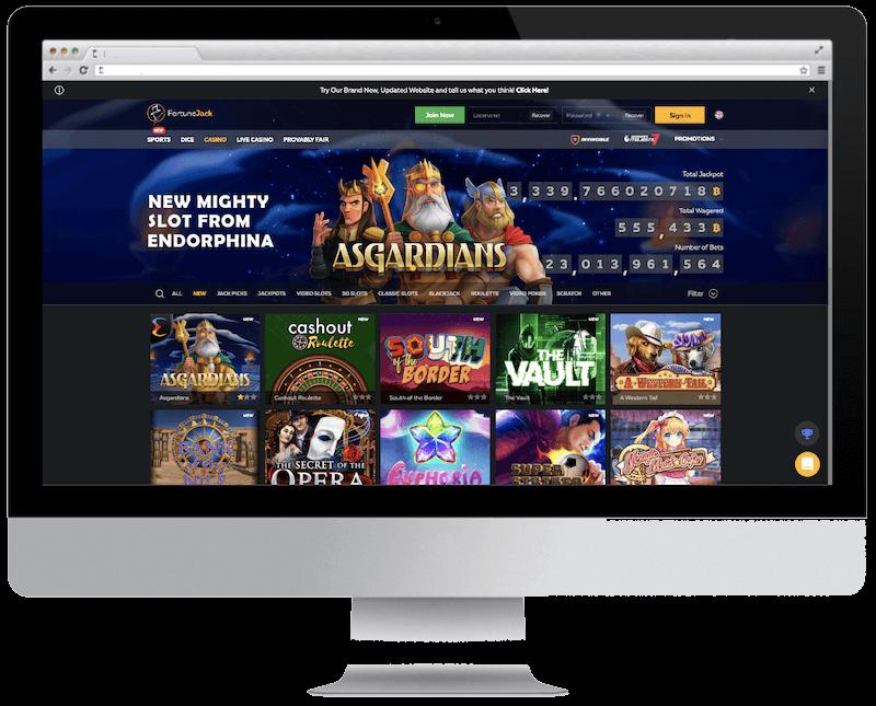 fortunejack bitcoin casino games