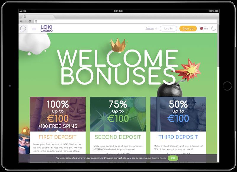 loki bitcoin casino bonus
