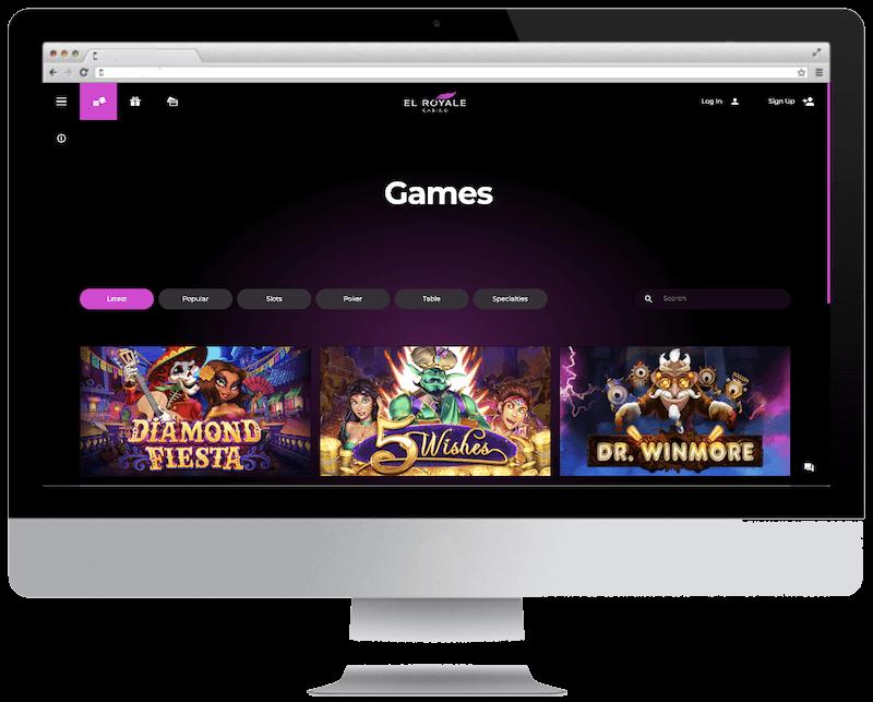 el royale casino bitcoin casino games