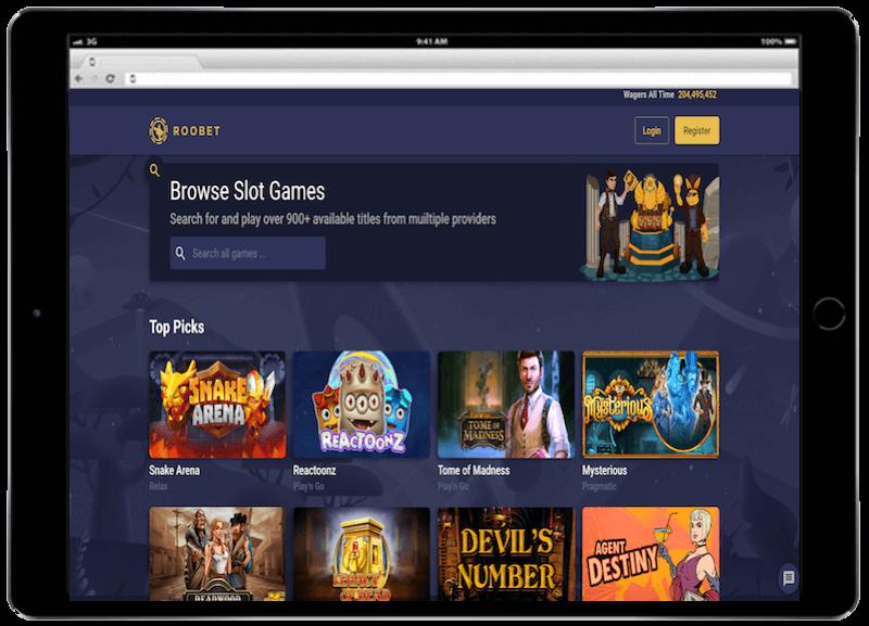 roobet casino bitcoin casino bonus