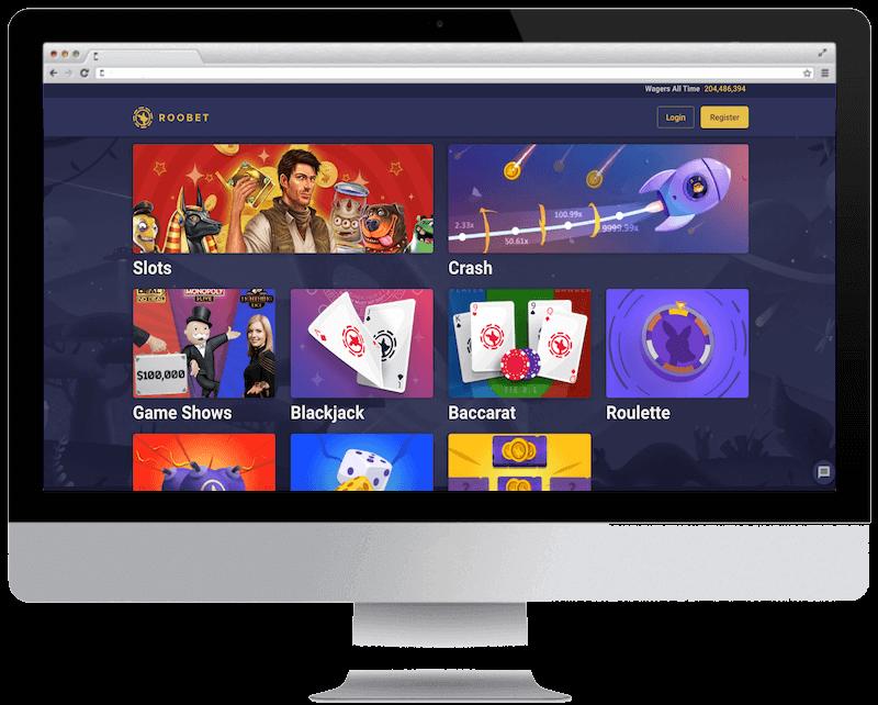 roobet casino bitcoin casino games