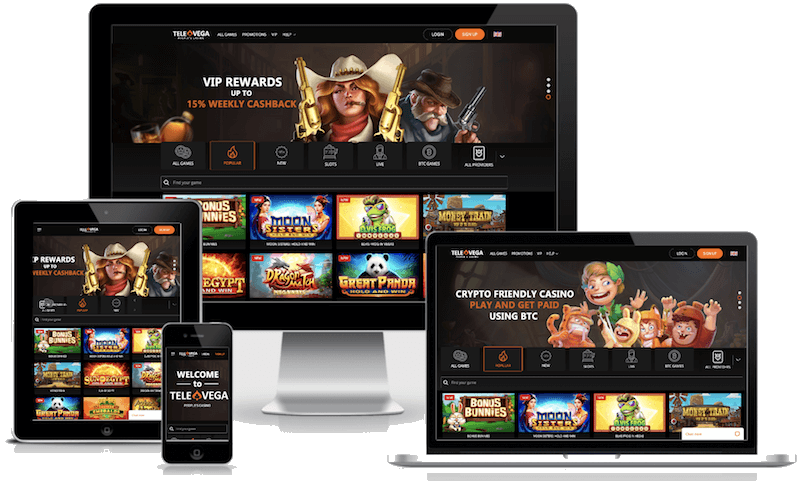 televega bitcoin casino mobile